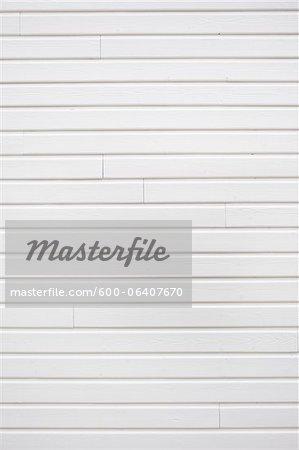 Mur de blanc en bois bardage, Royan, Charente-Maritime, Poitou-Charentes, France