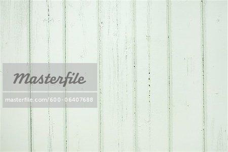 Mur de bois blanc parement, Arcachon, Gironde, Aquitaine, France