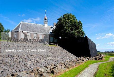 Schokland; a former island in the Dutch Zuiderzee; an Unesco World Heritage Site