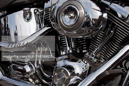 Résumé moteur de moto