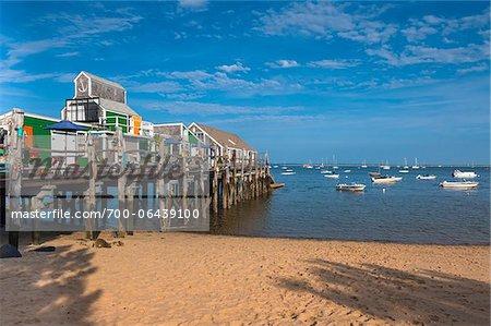Houses, Provincetown, Cape Cod, Massachusetts, USA