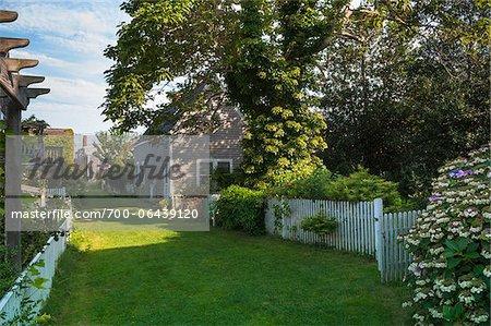 Gardens, Provincetown, Cape Cod, Massachusetts, USA