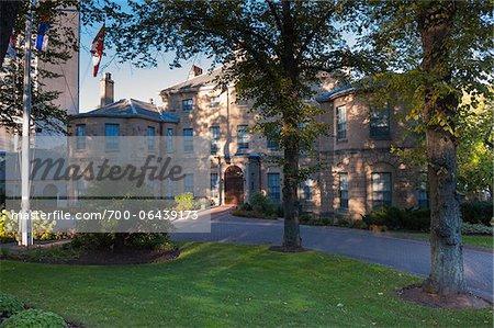 Facade of Government House, Halifax, Nova Scotia, Canada