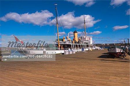 Two Masted Boat Docked at Waterfront, Halifax , Nova Scotia, Canada