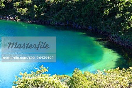Fudou lac volcanique de Kirishima, préfecture de Kagoshima