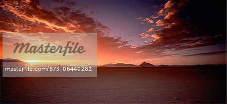 Sunset Sossusvlei, Namibia