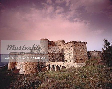 Crusaders Castle Krak des Chevaliers Alwash, Syria