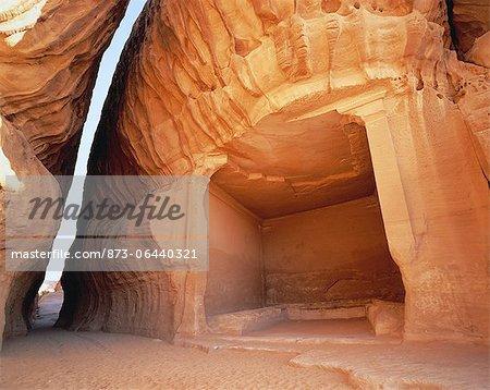 Isabatean Tombs Medain Saleh, Saudi Arabia