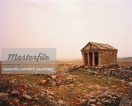 Ruines byzantines de la Syrie Ruweiha