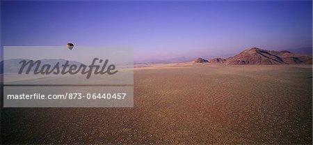 Hot Air Balloon over Naukluft Park, Namibia, Africa