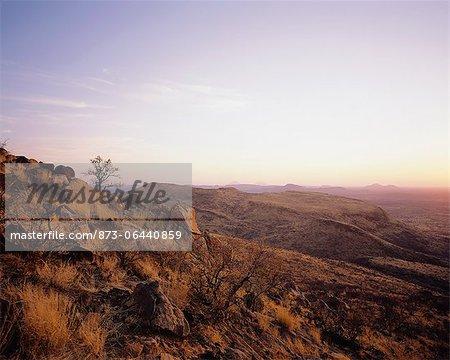 Paysage rocheux, Namibie