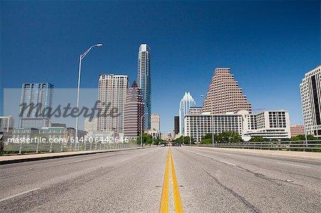 Stadtansicht von Austin, Texas, USA
