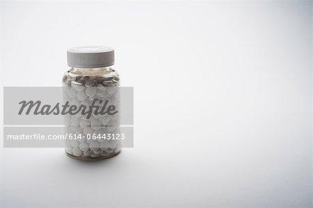 Flasche aspirin