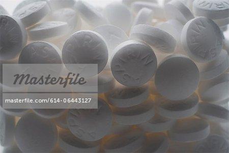Comprimés d'aspirine
