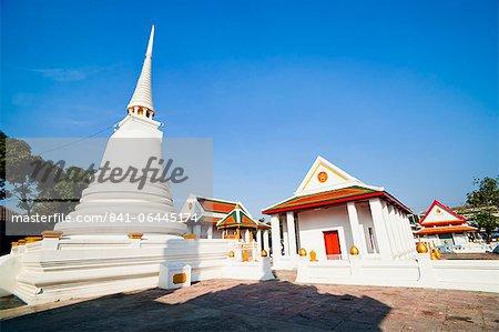 Wat Mani Chonlakhan, a Buddhist Temple in Lop Buri, Thailand, Southeast Asia, Asia