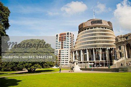 Ruche, l'hôtel du Parlement Nouvelle Zélande Wellington, North Island, New Zealand, Pacifique