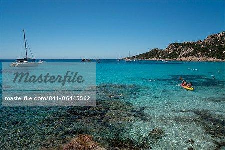 Strand von Roccapina Golf von Roccapina Sartenais Region im Südwesten Korsika, Mittelmeer, Europa