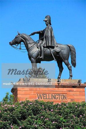 Monument de Wellington, Aldershot, Hampshire, Angleterre, Royaume-Uni, Europe