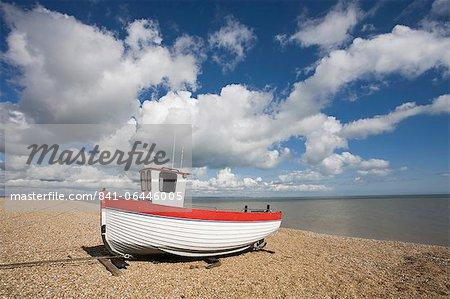 Bateau sur la plage, dormeur, Kent, Angleterre, Royaume-Uni, Europe
