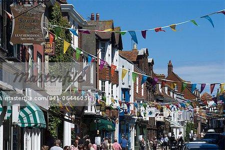 High Street, Rye, East Sussex, England, United Kingdom, Europe
