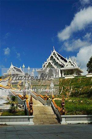 Temple de Kaewkorawaram dans la ville de Krabi, Province de Krabi, en Thaïlande, l'Asie du sud-est, Asie