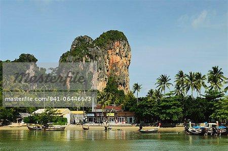 Railay East Bay, Rai Leh (Railay), Andaman Küste, Provinz Krabi, Thailand, Südostasien, Asien