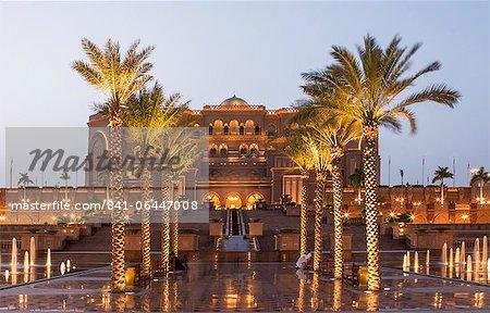 Emirates Palace Hotel, Abu Dhabi, Émirats Arabes Unis, Moyen-Orient