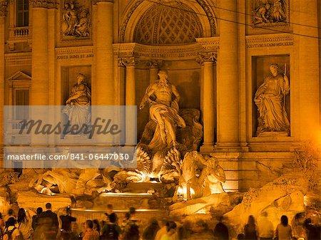 Trevi fountain, Rome, Lazio, Italie, Europe