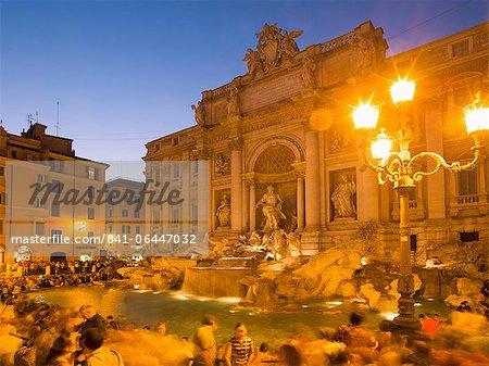 La fontaine de Trevi, Rome, Lazio, Italie, Europe