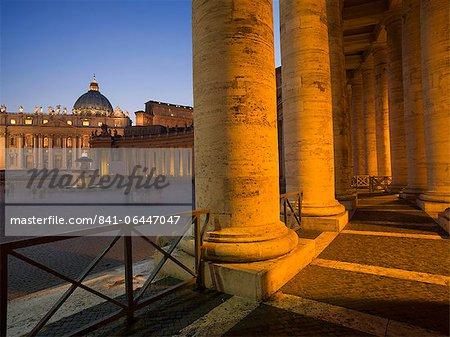 De St. Peter Basilica, Vatican, Rome, Lazio, Italie, Europe