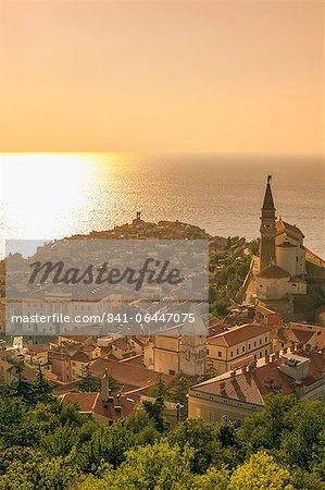 Piran, Istrie, côte Adriatique (Slovénie), Europe