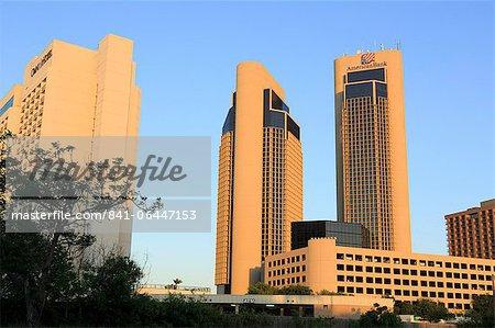 Downtown skyscrapers, Corpus Christi, Texas, United States of America, North America