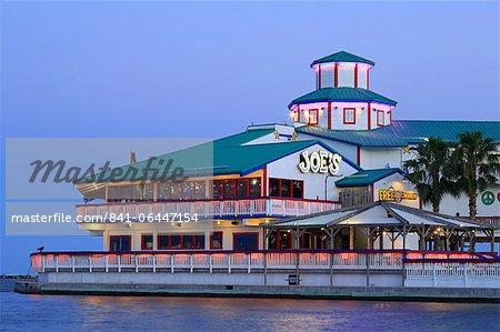 Crab Shack Restaurant de Joe, Corpus Christi, Texas, États-Unis d'Amérique, l'Amérique du Nord