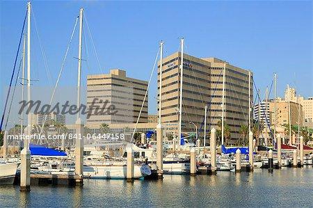 Waterfront skyline in Corpus Christi, Texas, United States of America, North America