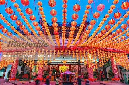 Temple chinois de Thean Hou, Kuala Lumpur, Malaisie, Asie du sud-est, Asie