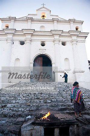 Kirche von Santo Tomas, Chichicastenango, Guatemala, Zentralamerika