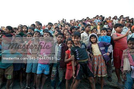 Dorf Kinder, ländlichen West Bengal, Indien, Asien