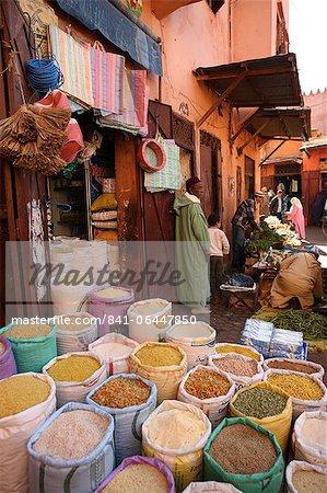 Geschäft, Marrakesch, Marokko, Nordafrika, Afrika