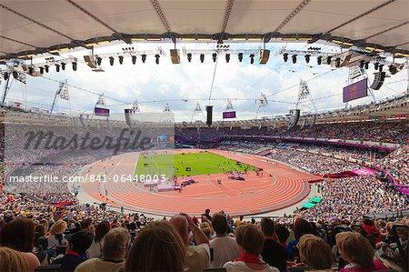 L'Olympic Stadium, Jeux olympiques de 2012, Londres, Royaume-Uni, Europe