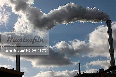 Scrap recycling plant, Ivry-sur-Seine, Ile-de-France, France, Europe