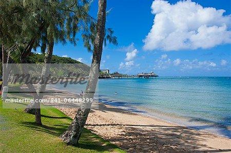 Beach in Noumea, New Caledonia, Melanesia, South Pacific, Pacific