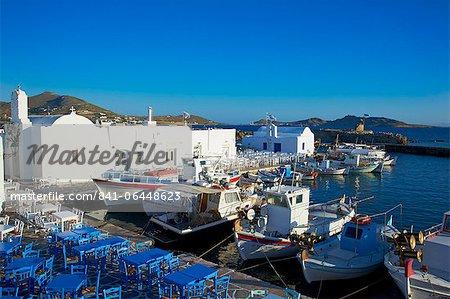 Port, Naoussa, Paros, Cyclades, Aegean, îles grecques, Grèce, Europe