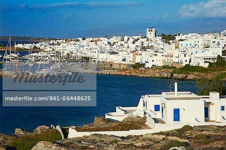 Naoussa, Paros, Cyclades, Aegean, îles grecques, Grèce, Europe