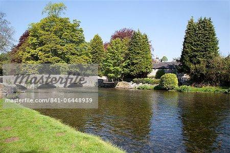 Sheepwash Bridge, Ashford in the Water, Derbyshire, England, United Kingdom, Europe