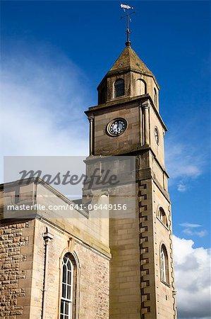 Église paroissiale de Coldstream, Coldstream, Scottish Borders, Ecosse, Royaume-Uni, Europe