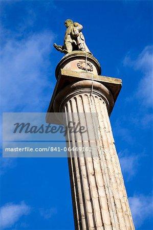 Marjoribanks Monument à Coldstream, Scottish Borders, Ecosse, Royaume-Uni, Europe