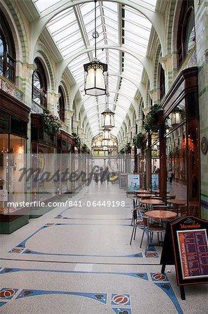 Royal Arcade, Norwich, Norfolk, England, Vereinigtes Königreich, Europa
