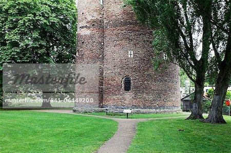 Cow Tower, Norwich, Norfolk, England, Vereinigtes Königreich, Europa