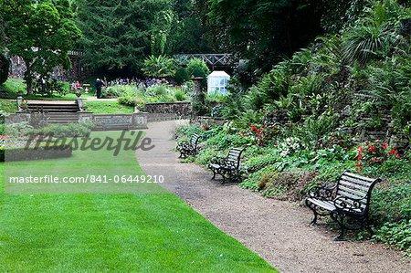 Die Plantage Garten, Norwich, Norfolk, England, Vereinigtes Königreich, Europa
