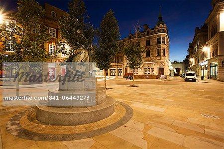 La statue de Giles, Ipswich, Suffolk, Angleterre, Royaume-Uni, Europe